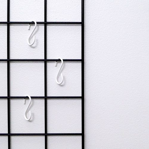 White S-Hooks 3 pcs set