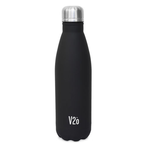 V2o STEEL BOTTLE BLACK