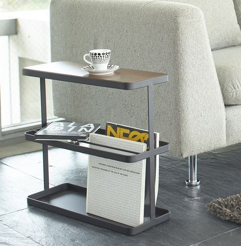 Yamazaki Tower narrow side table black