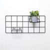 Basic Mini black wall grid
