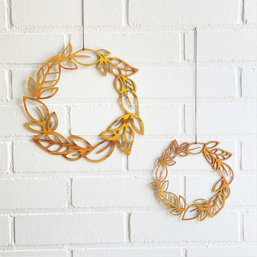 Puine Ruska wooden wreath